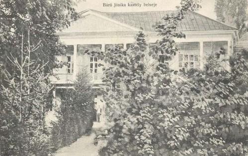 Csákigorbó:báró Jósika Miklós kastélya.1917