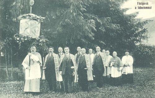 Csiksomlyó,Fácigerek 1910