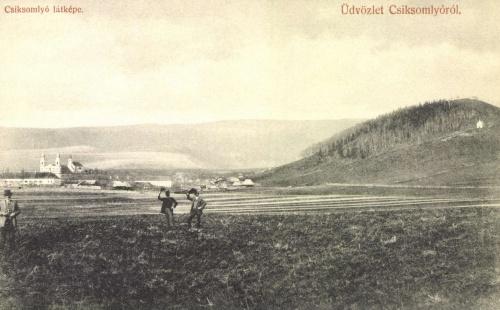 Csiksomlyó:látkép,1908.