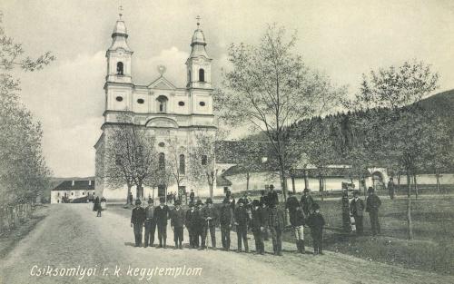 Csiksomlyó:római katolikus kegytemplom,1911.