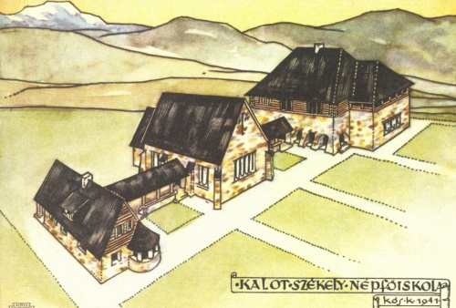 Csiksomlyó:KALOT székely népfőiskola (Kós Károly),1941.