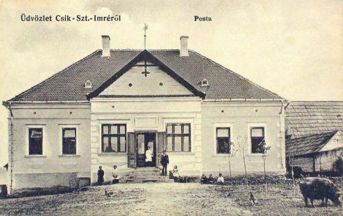 Csikszentimre:Posta épülete.1912