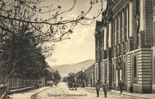 Csikszereda:törvényszék,1910-ben.