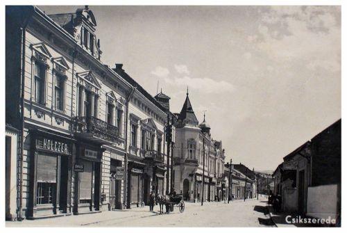 Csikszereda:üzletek.1942