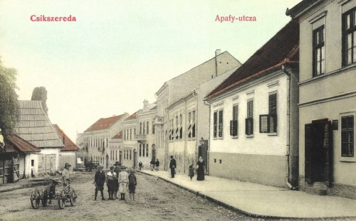 Csikszereda:Apafi Mihály utca,1908.