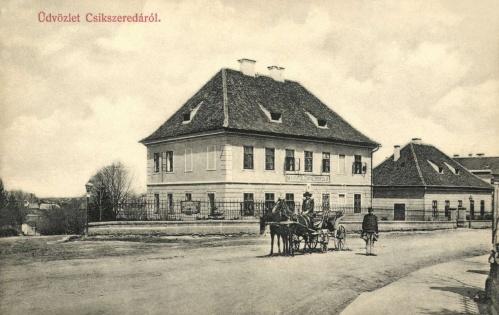 Csikszereda:Magyar Királyi Földmüves iskola,1908.