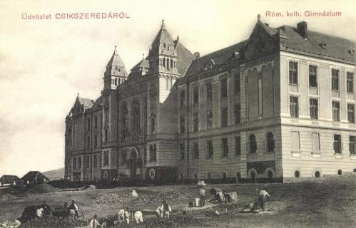 Csikszereda:katolikus gimnázium,1911.