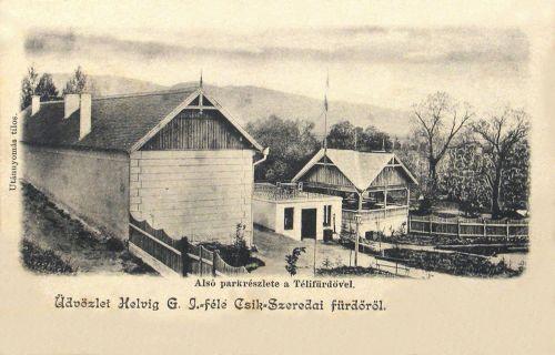 Csikszereda,téli fürdő 1903