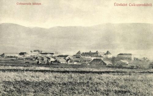 Csikszereda:látkép,1906-ban.