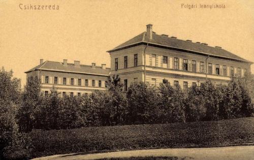 Csikszereda:Polgári Leányiskola,1908.