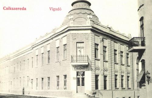 Csikszereda:Vigadó és kávéház,1908.
