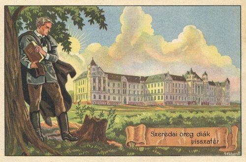 Csikszereda:szeredai öreg diák visszatér.1920