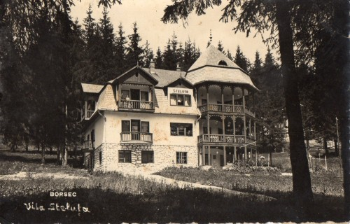 Borszék:Csillag villa (3-as,ELY villa),1939.