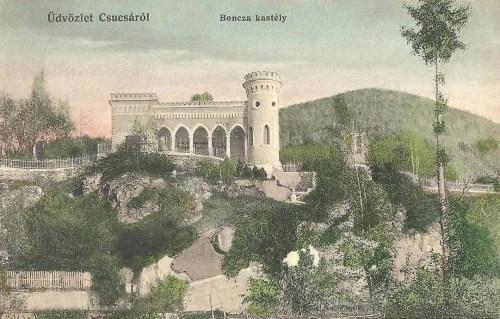 Csucsa:Boncza kastély.1912