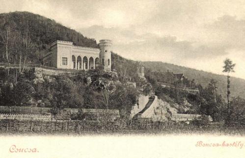 Csucsa:Boncza kastély,1899.