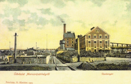 Marosvásárhely:cukorgyár.1905
