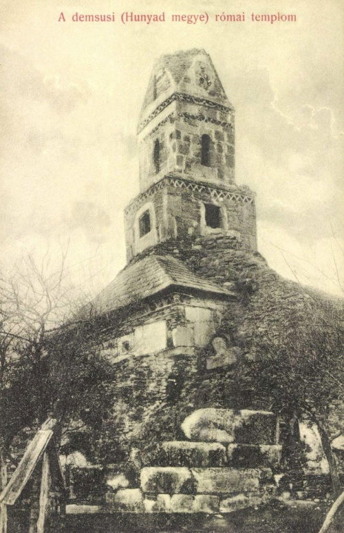 Demsun:római templom,1908