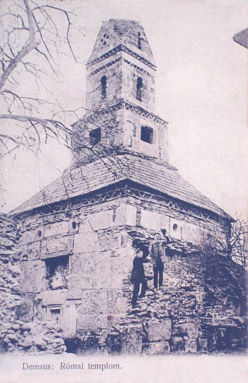 Demsus:római templom.1906