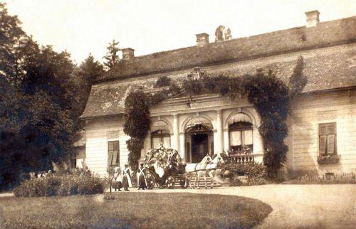 Dicsőszentmárton:Pekry család kastélya.1940