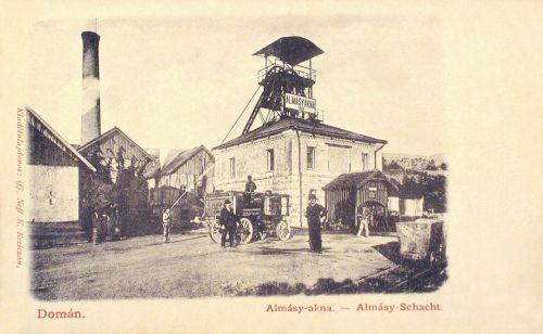 Domán:Almásy akna.1903