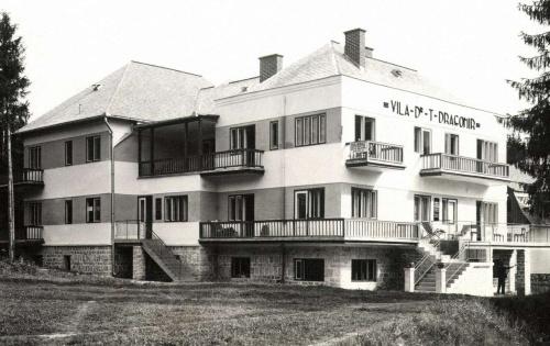 Borszék:Dragomir villa,1938.