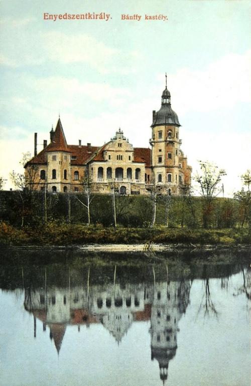 Enyedszentkirály:Bánffy család kastélya.1912