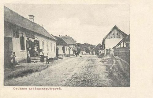 Erdőszentgyörgy,főút 1904