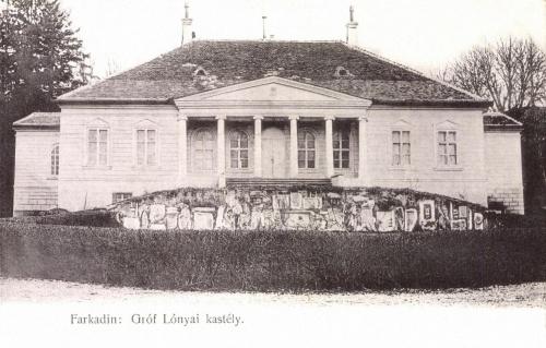 Farkadin:Lónyai kastély,1905.