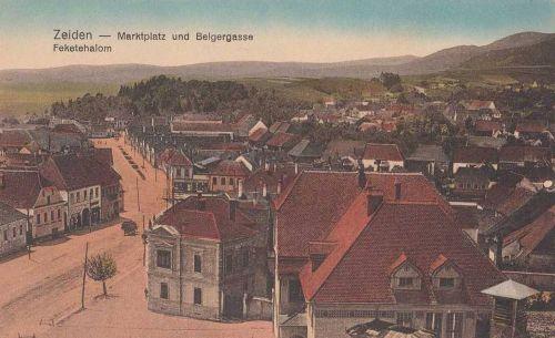 Feketehalom:látkép.1912
