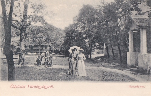 Fürdőgyógy:Hunyadi sor.1903