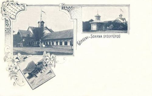 Görgénysóakna:fürdő és vendéglő.1899
