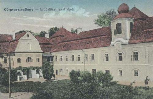 Görgényszentimre:Erdő altiszti szakiskola.1915