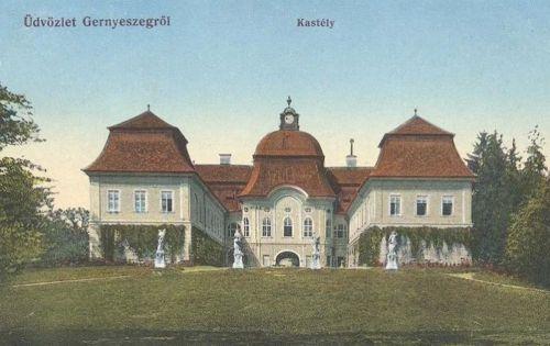 Gernyeszeg,Teleki kastély 1916