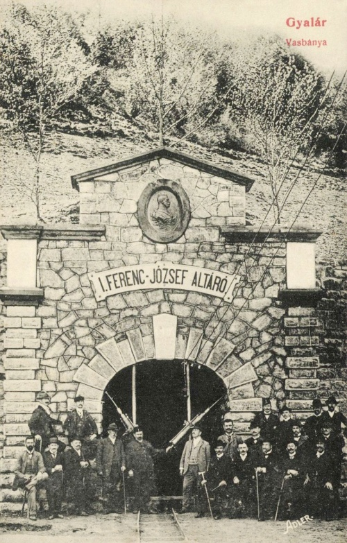 Gyalár:vasgyár I.Ferenc József altáró,1908.