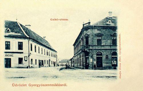 Gyergyószentmiklós,Csiki utca 1902