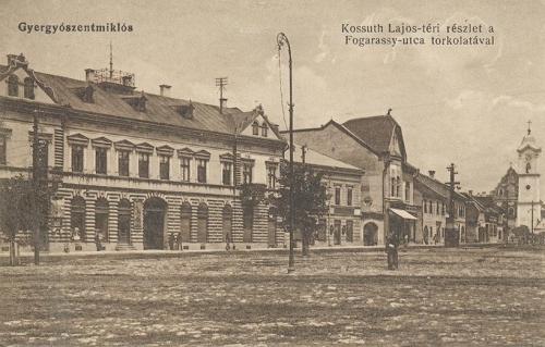 Gyergyószentmiklós,Kossuth Lajos tér 1916