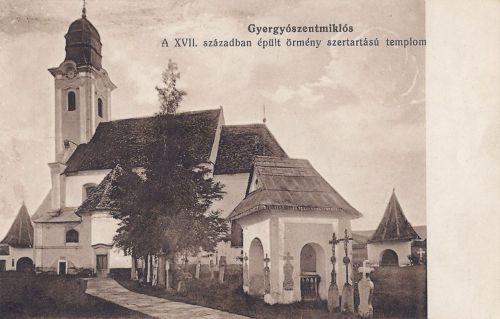 Gyergyószentmiklós:örmény templom.1916