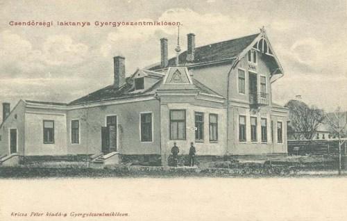 Gyergyószentmiklós,csendőr laktanya 1903