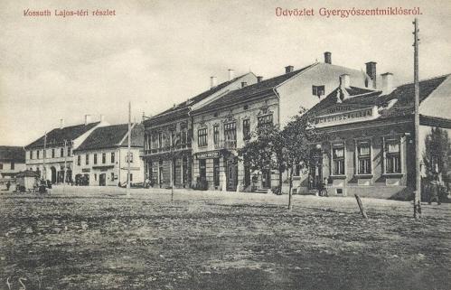 Gyergyószentmiklós,Szilágyi szálloda 1910