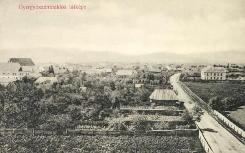Gyergyószentmiklós:látkép,1909.