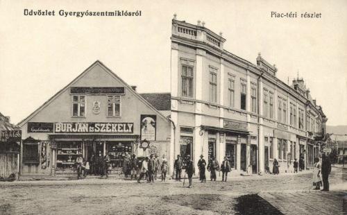 Burján és Székely kereskedése,Berkovits Lázár üzlete,1912