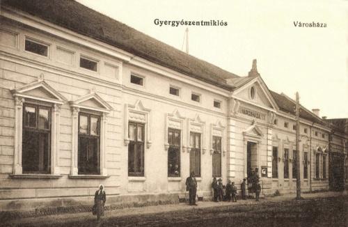 Gyergyószentmiklós:városháza,1915.