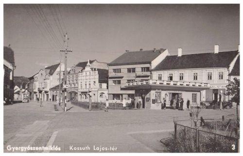 Gyergyószentmiklós:Kossuth Lajos tér.1942