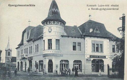 Gyergyószentmiklós,Novák gyógyszertár 1912