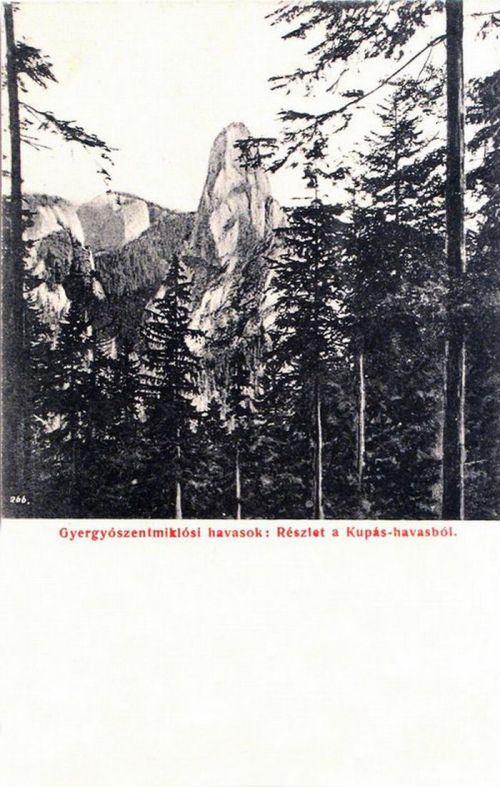 Gyergyószentmiklós:Kupás havasok.1906