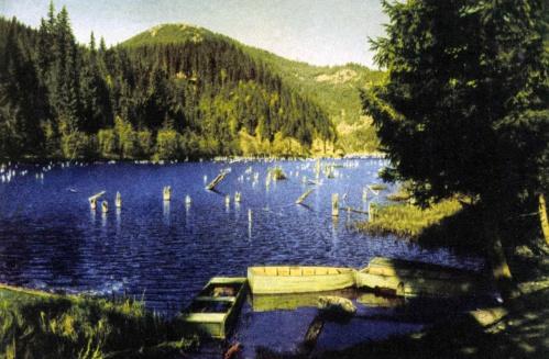 Gyilkos-tó:szines fénykép,1944.