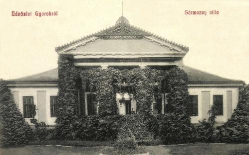 Gyorok:Sármezey kúria,villa,1908.