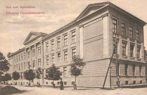 Gyulafehérvár:katolikus főgimnázium.1909