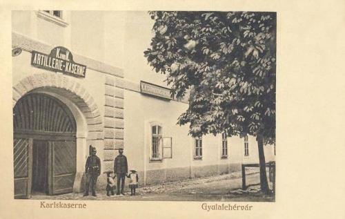 Gyulafehérvár:Károly laktanya.1912