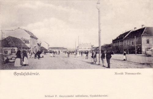 Gyulafehérvár:Novák Ferencz tér.1902